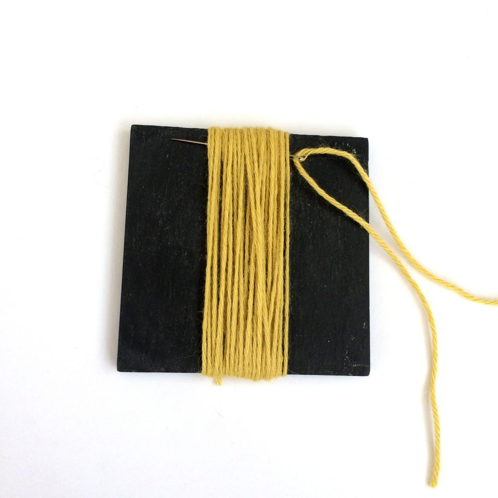 tassel tutorial step 5