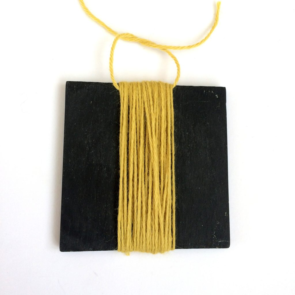 tassel tutorial step 6
