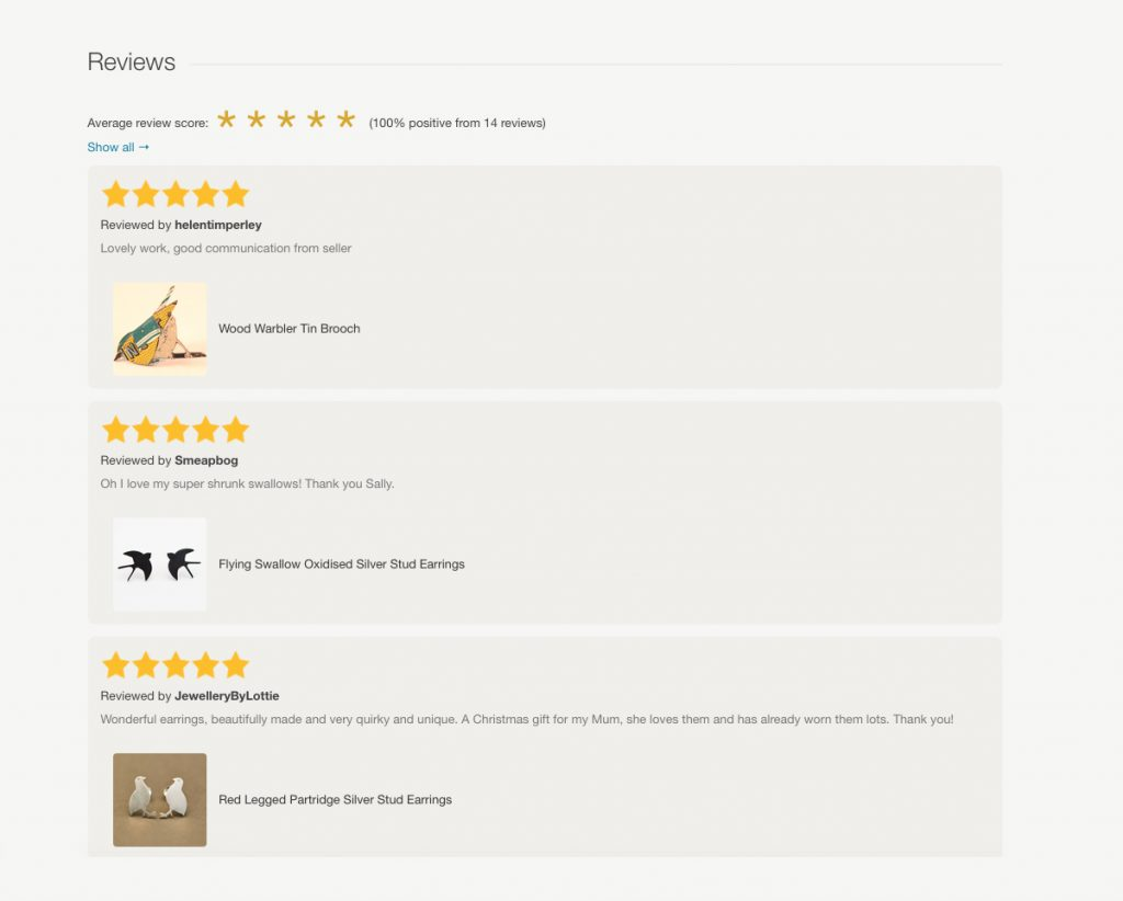 reviews update folksy