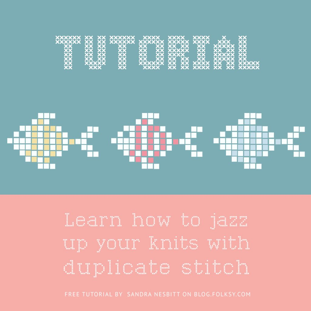 duplicate stitch tutorial