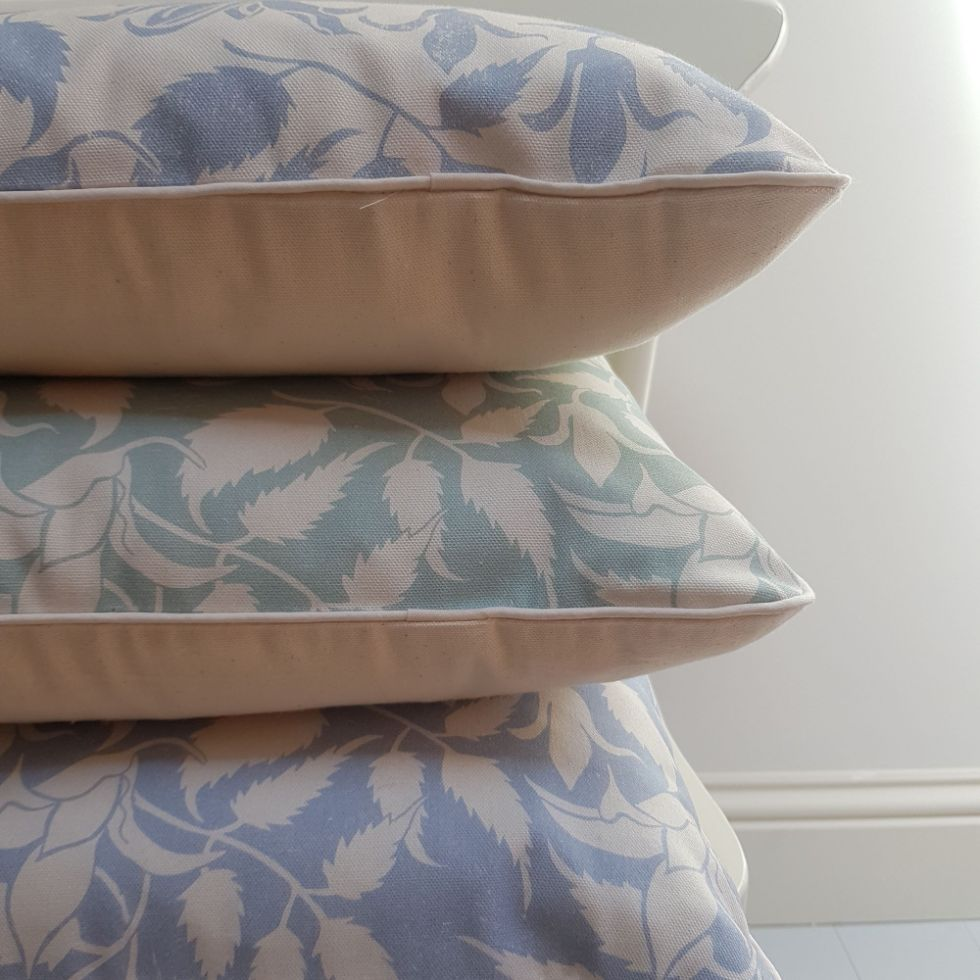 cushions made in the Cotswolds by My Blue Shed