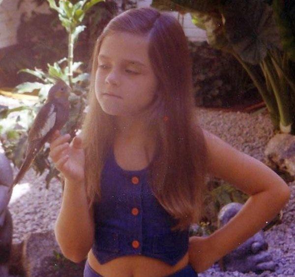 Robyn Coetzee as child