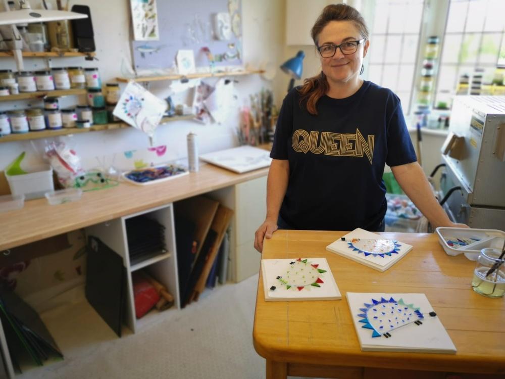 Robyn Coetzee studio