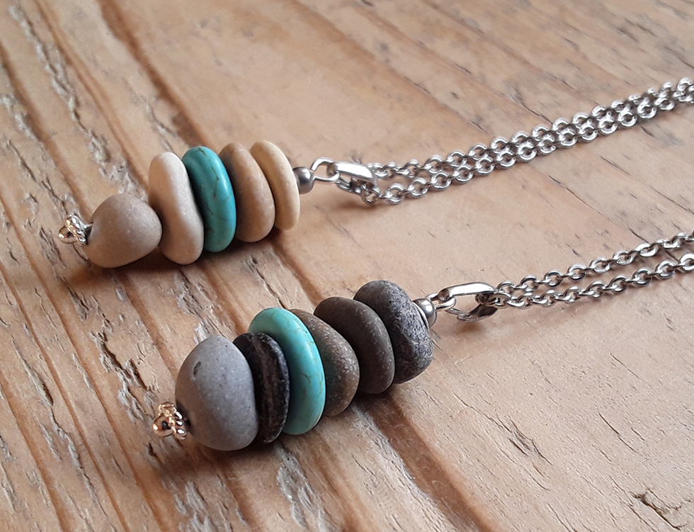 craft as therapy - pebble jewellery