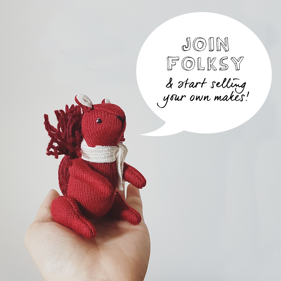 Start selling on Folksy