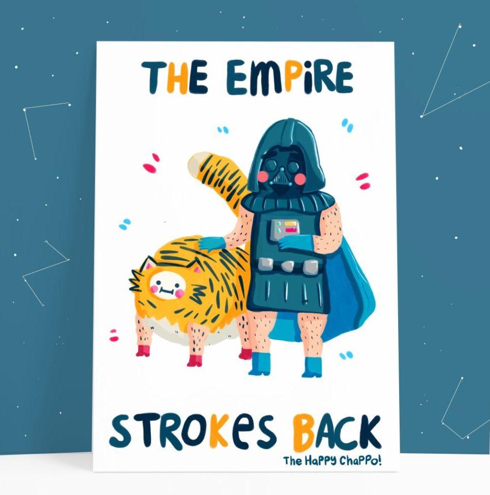 Happy Chappo empire strokes back card