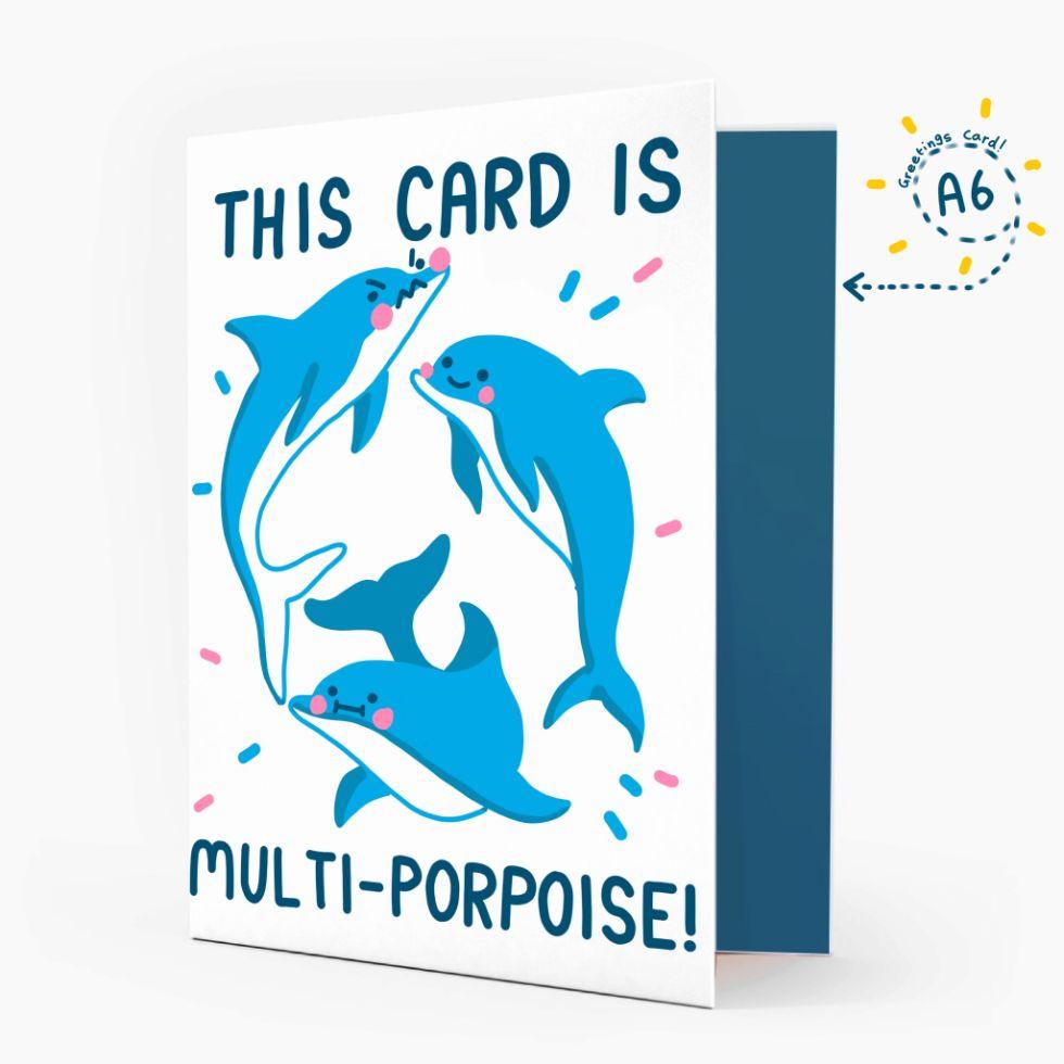 The Happy Chappo multi-porpoise card