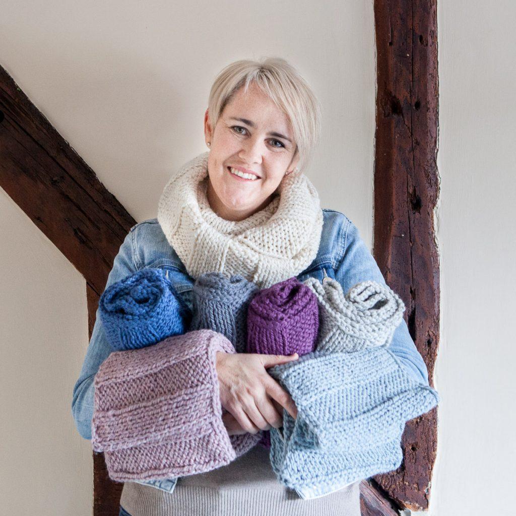 Maya Croft knitwear