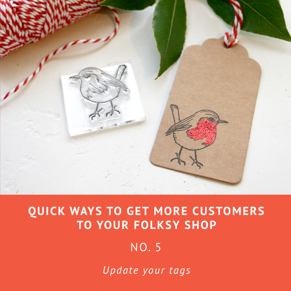 How to get more customers to your Folksy shop