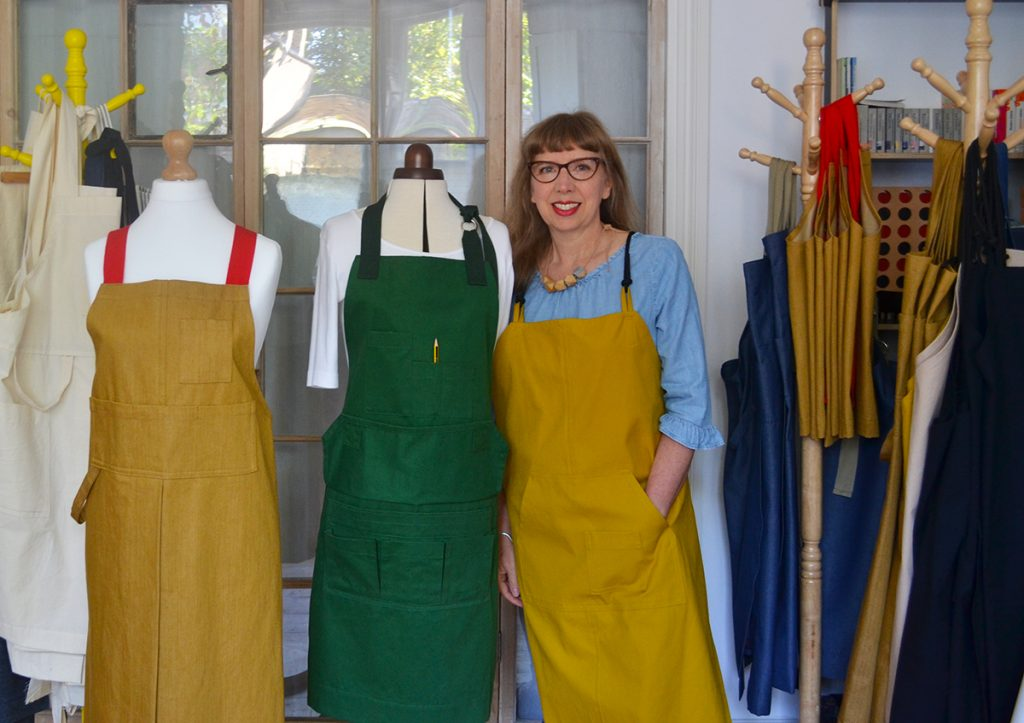 Lisa Bennet from In the Making Aprons