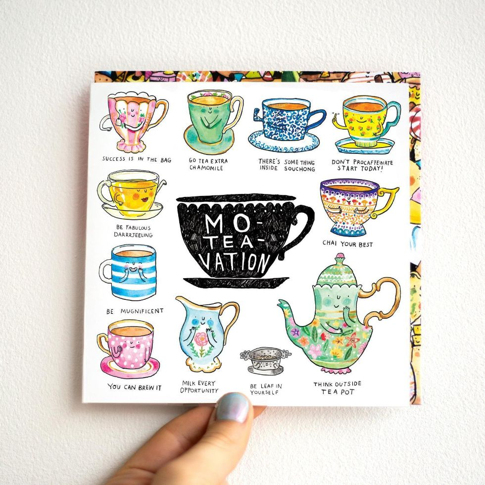 Mo-tea-vation card - motivational card