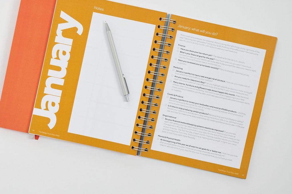 Design Trust diary 2020