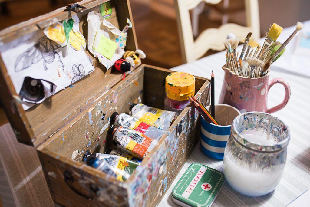 The artist toolbox of Mani Annie Art