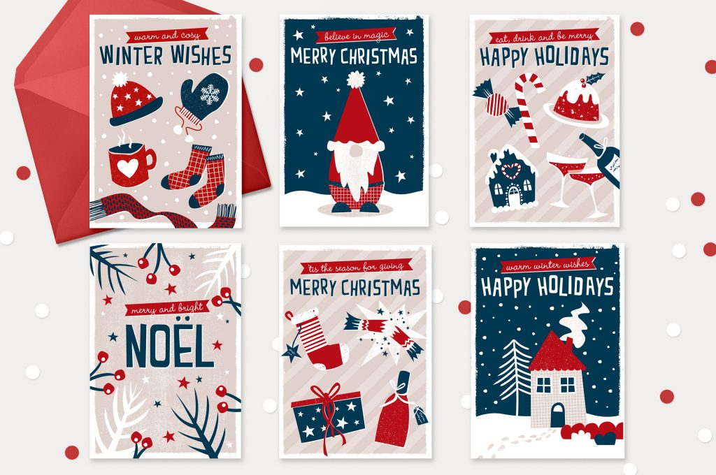 Zedig Design christmas cards