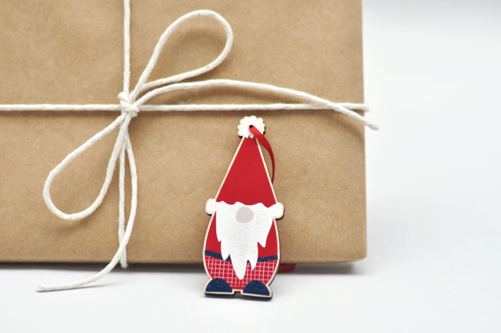 Zedig Design Christmas gnome decoration