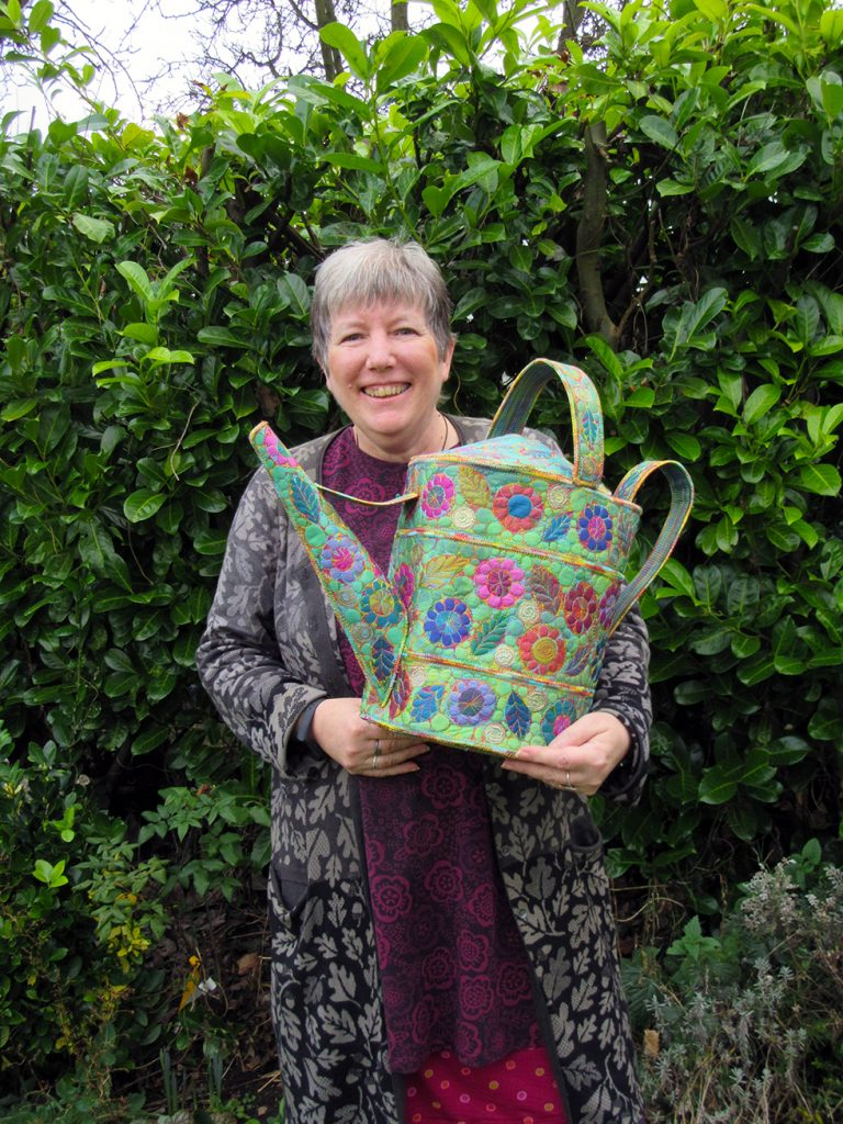 Sue Trevor textile artist
