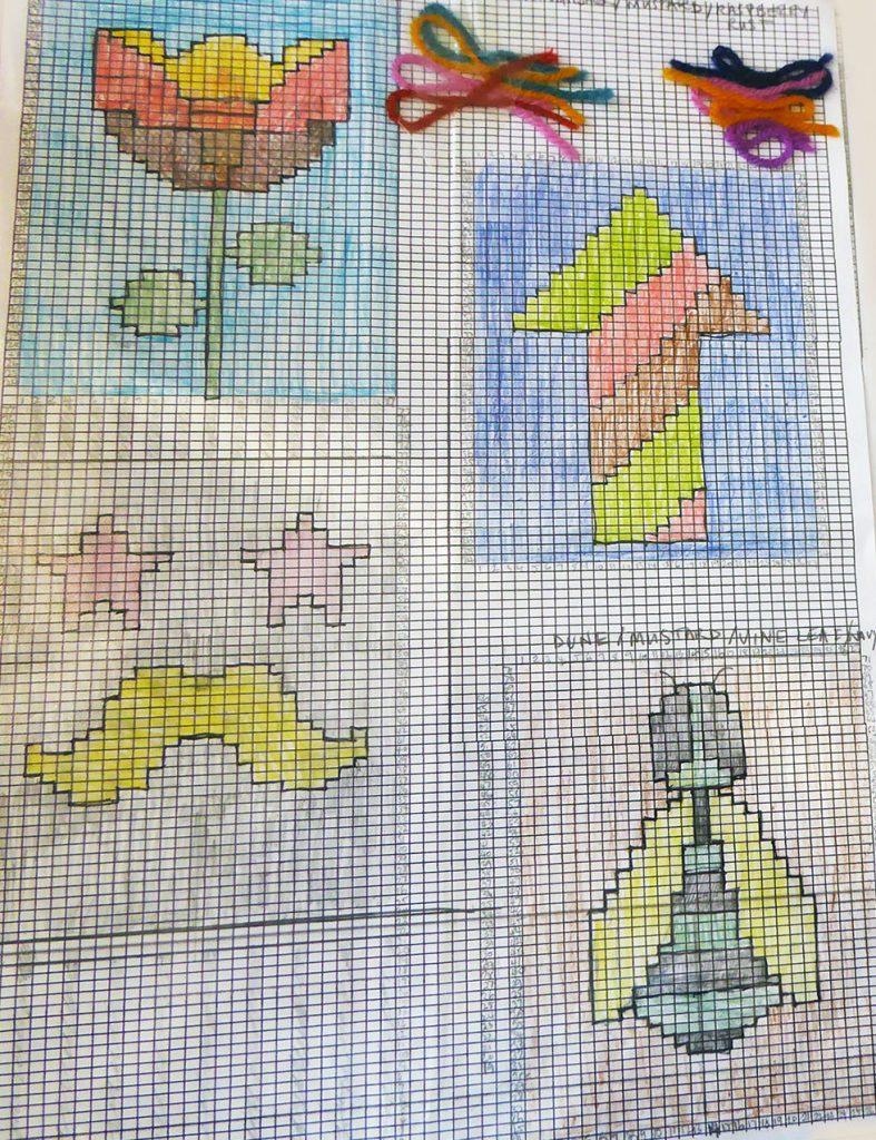 Dreamtime Treasures knitting graphs