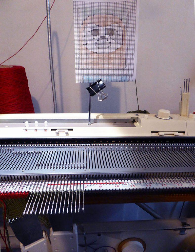 Dreamtime Treasures knitting machine