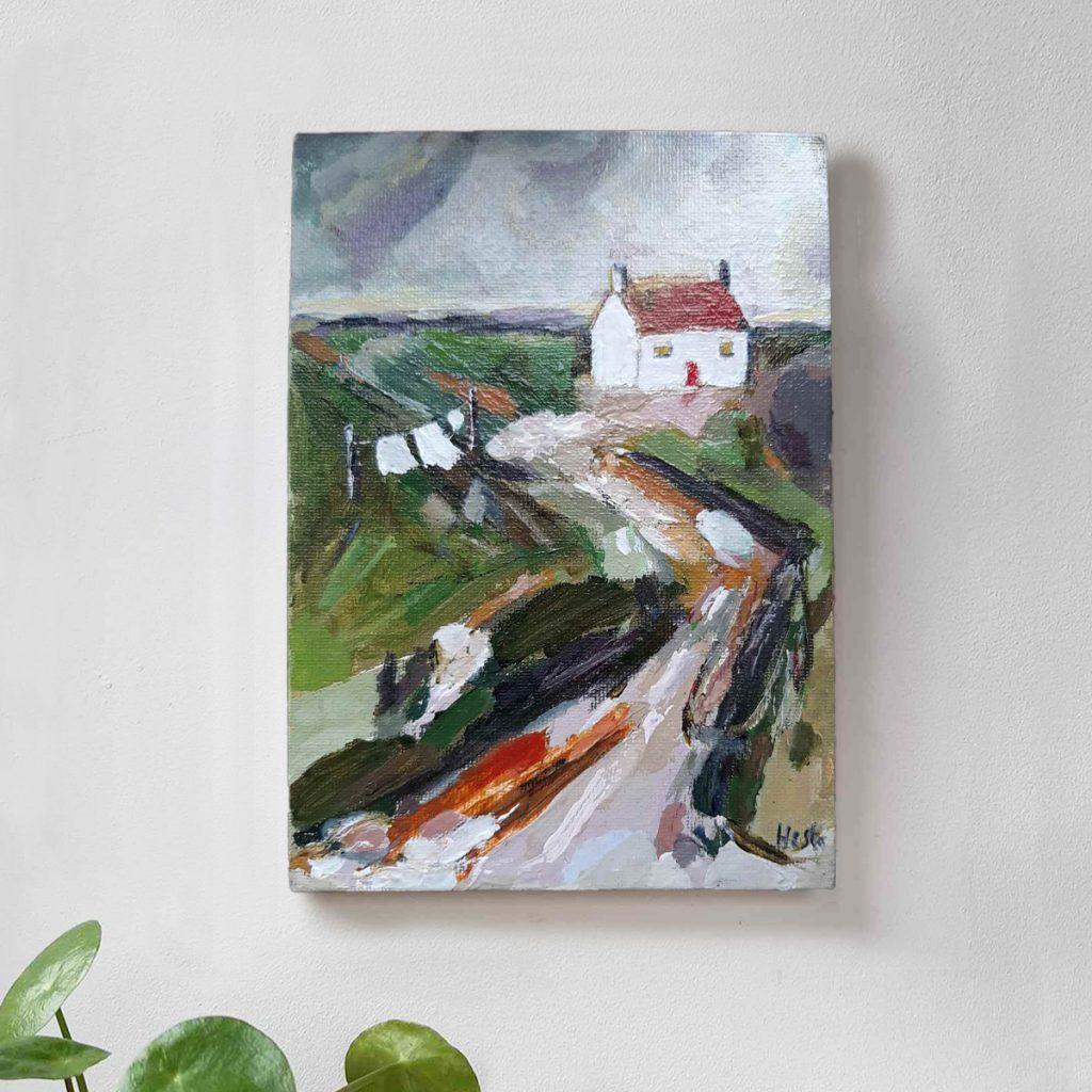 Original Painting by artist Hesta Singlewood from Bodkin Creates
