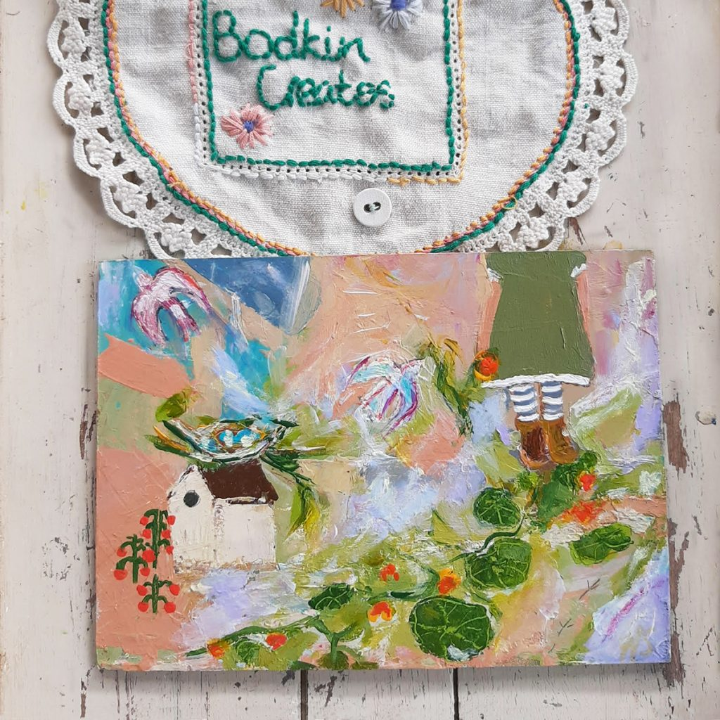 painter and artist Hesta Singlewood from Bodkin Creates