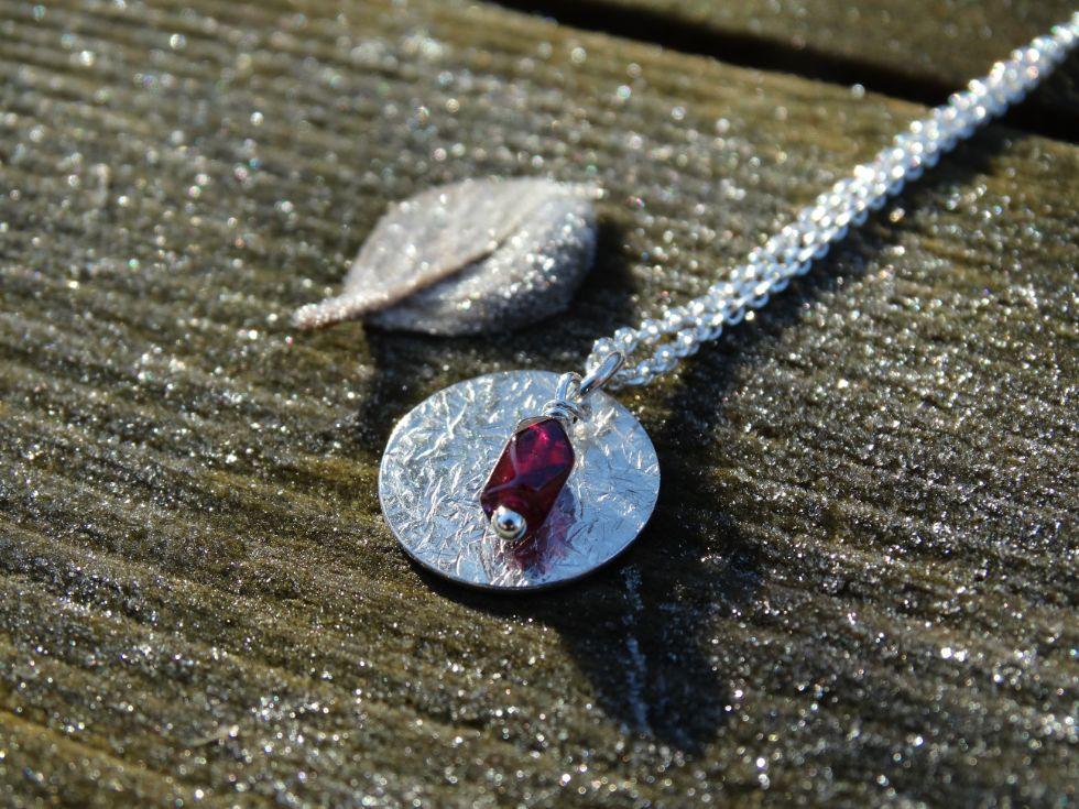 silver nutmeg handmade jewellery