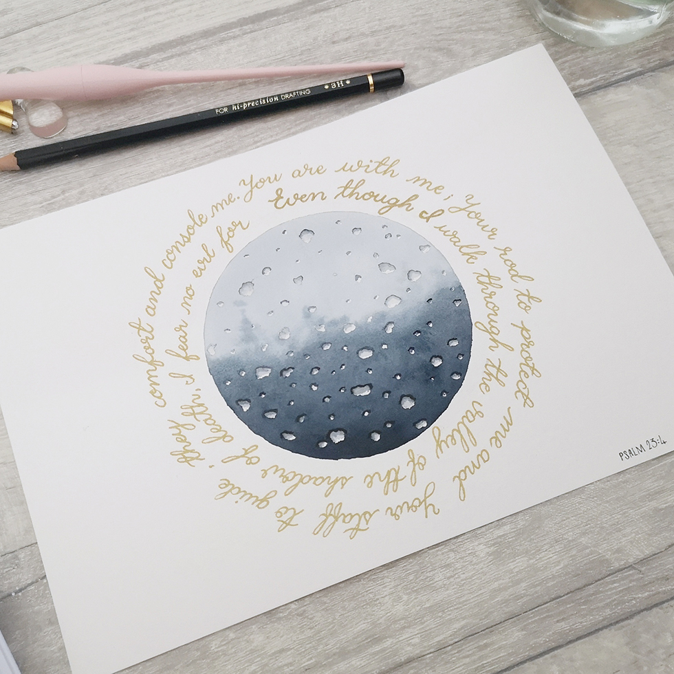 DotKDesign Christian Watercolour and Calligraphy