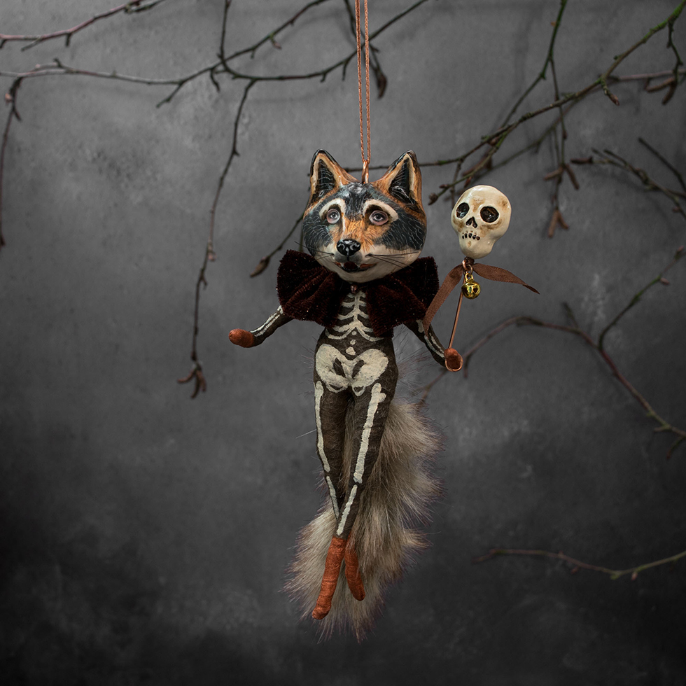 Wolf Halloween Decoration by Kayleigh Radcliffe