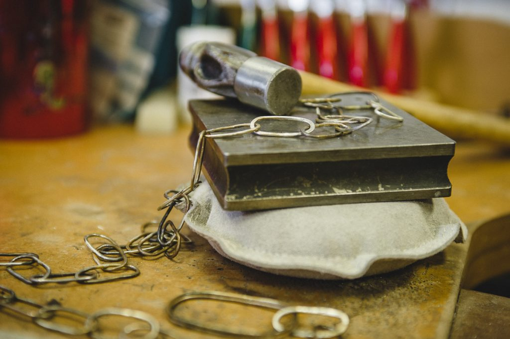 Jeweller Harriet Ward from Eightfourteen Silver