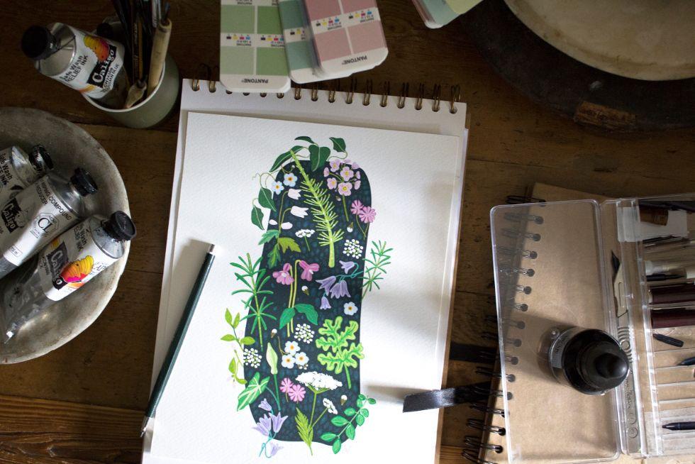 Sarah Watkins Pattern Design