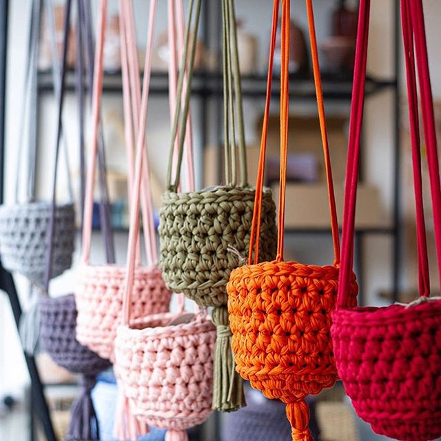 Clare Gets Crafty Crochet Hanging Baskets