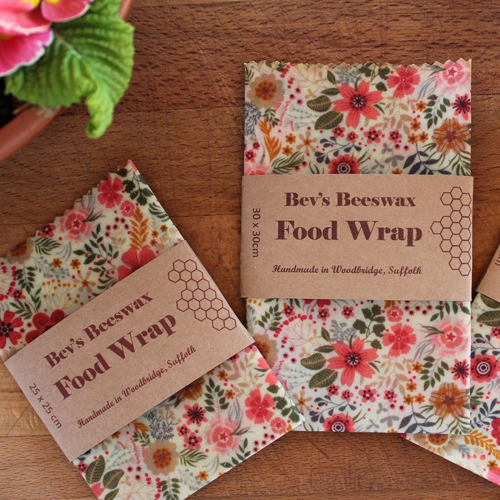 Beeswax sustainable food wraps