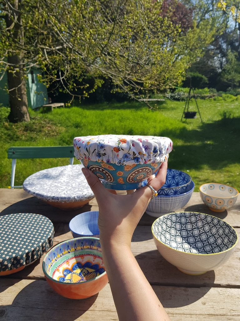 Washable Eco Friendly Bowl Covers by Bev's Eco Products