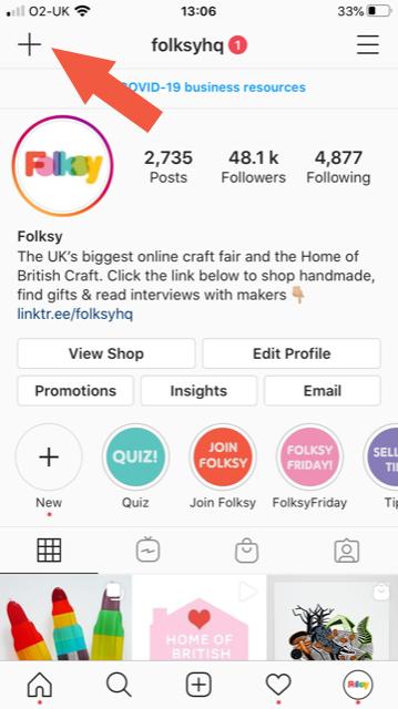 How to add sticker to Instagram Story