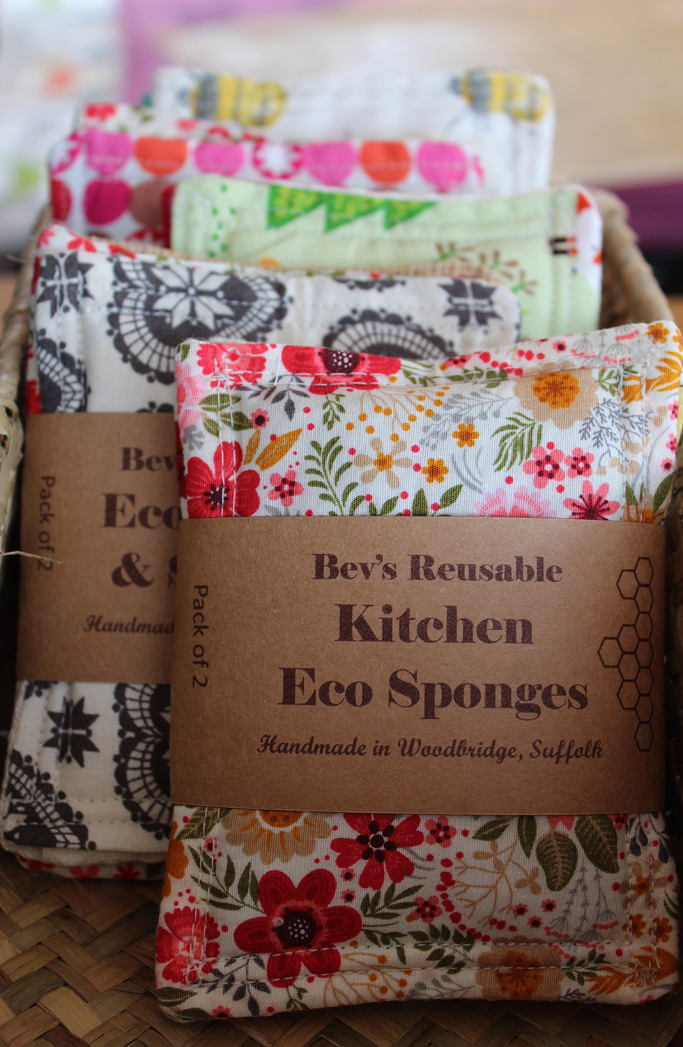 Eco Kitchen Sponges by Bev's Eco Products