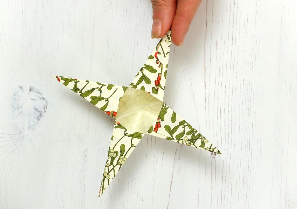Paper star tutorial