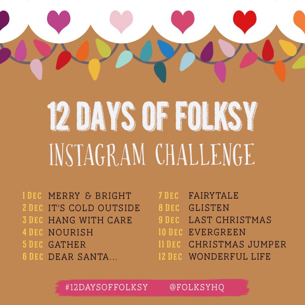 12 Days of Folksy 2020