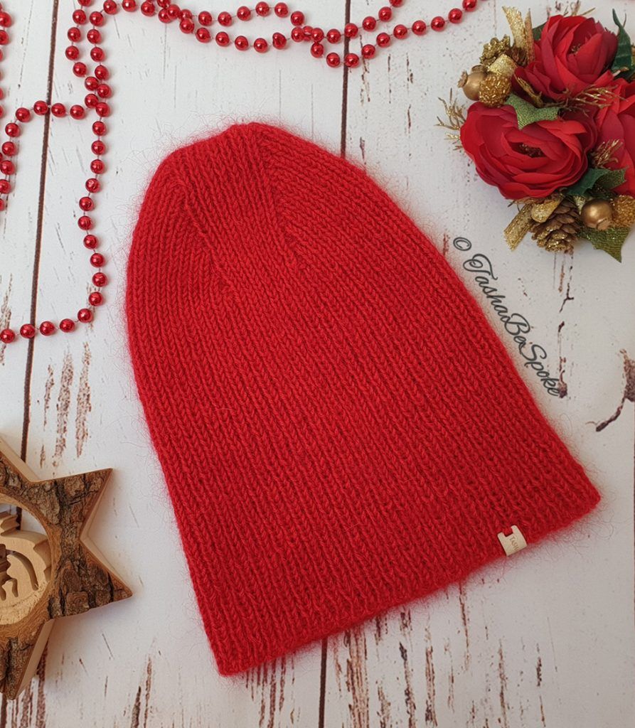 Knitted Merino Hat by TashaBeSpoke