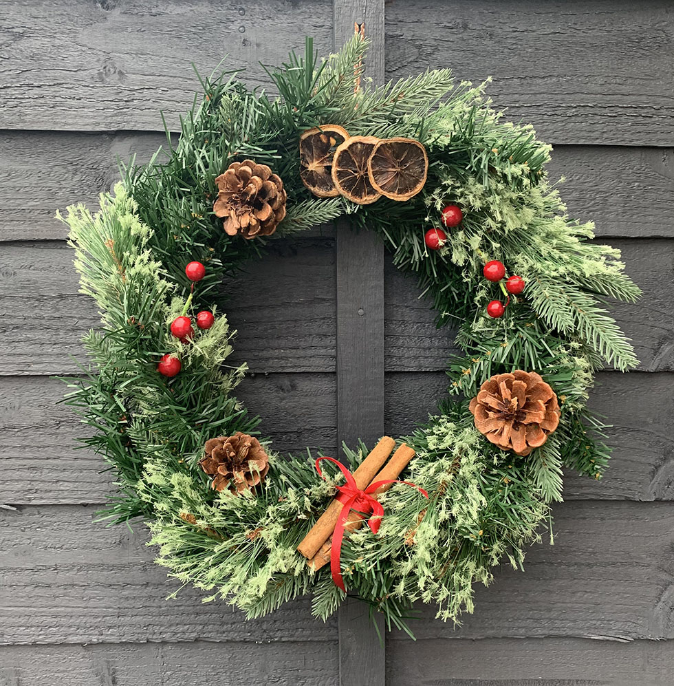 Festive Wreath by The Kitch Witch UK