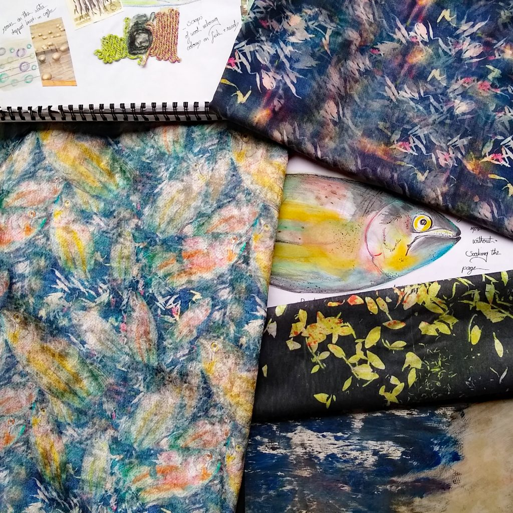 Eynonymous Designs patterned textiles and prints