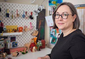 Stitch Studio Felt Animals by Kirsteen Hoare