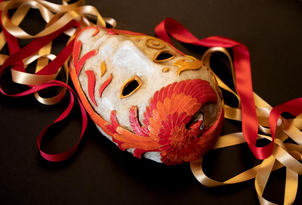 Annie Stothert paper mache art and decorations