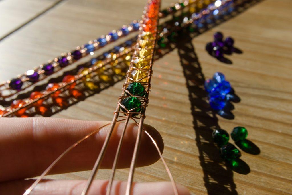 Oruki Design wire wrapped jewellery
