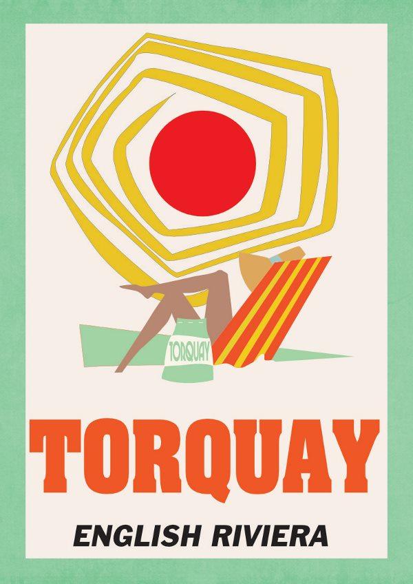 Travel posters Torquay