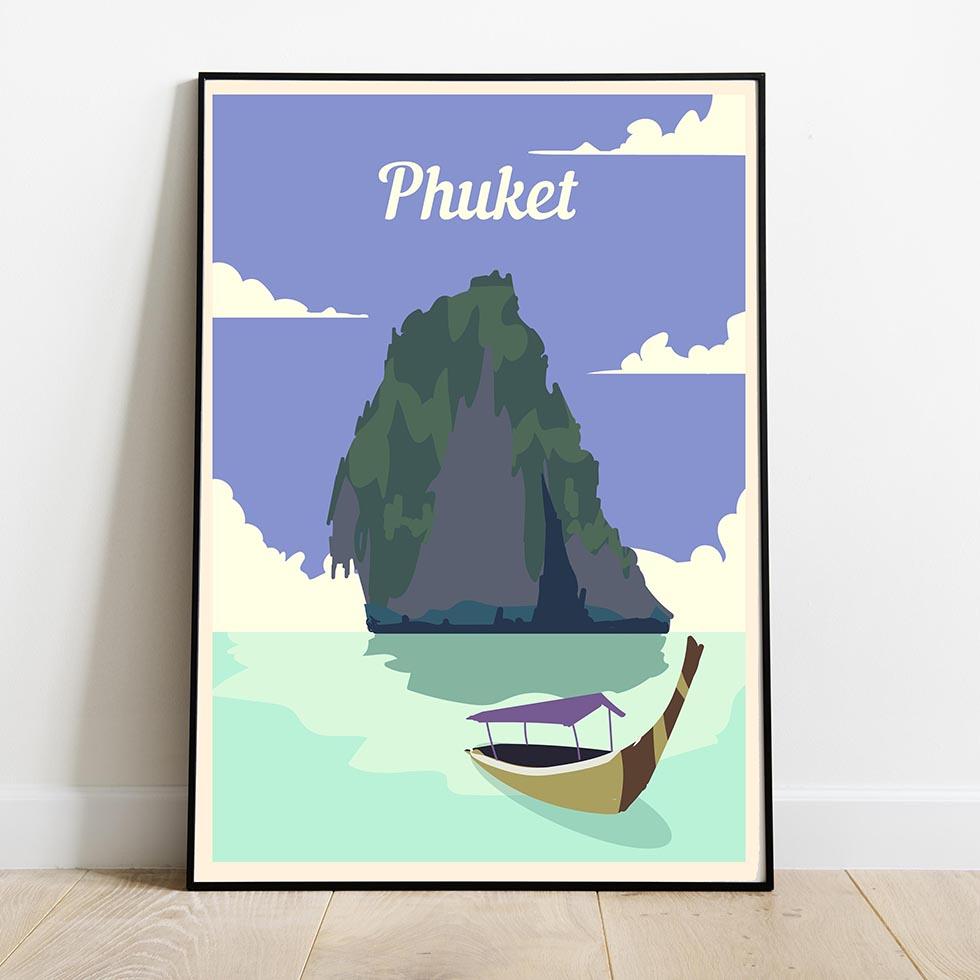 Travel posters Phuket Thailand