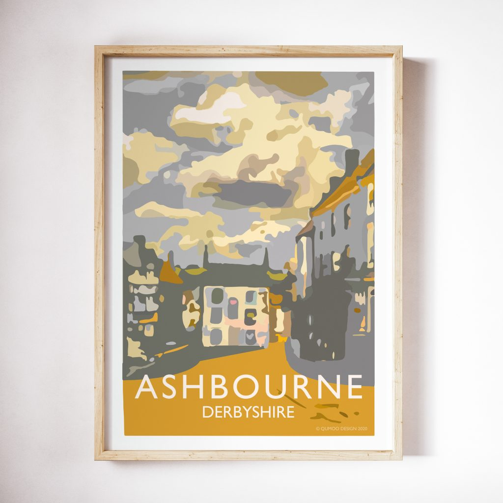 Travel posters Ashbourne