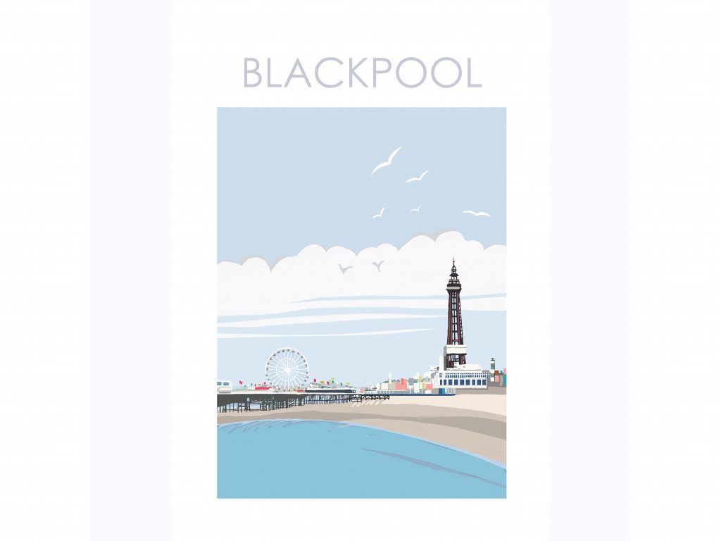 Travel posters Blackpool