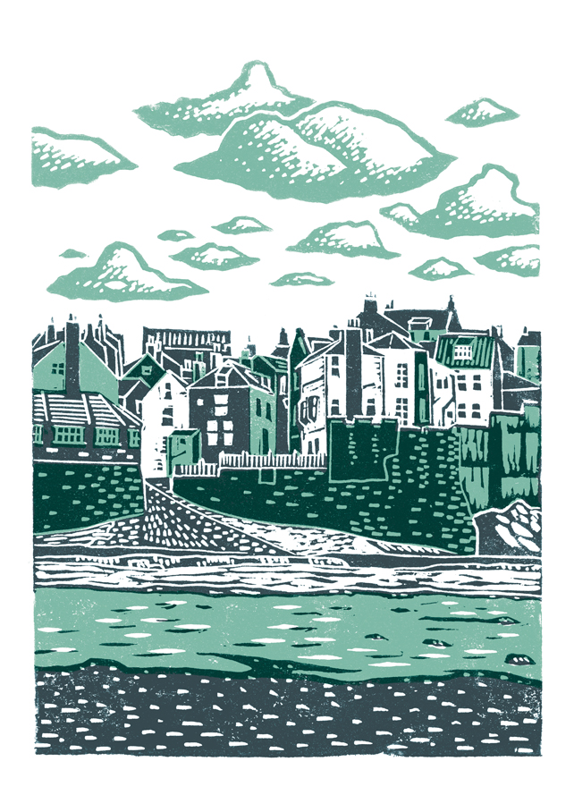 Travel posters Robin Hoods Bay