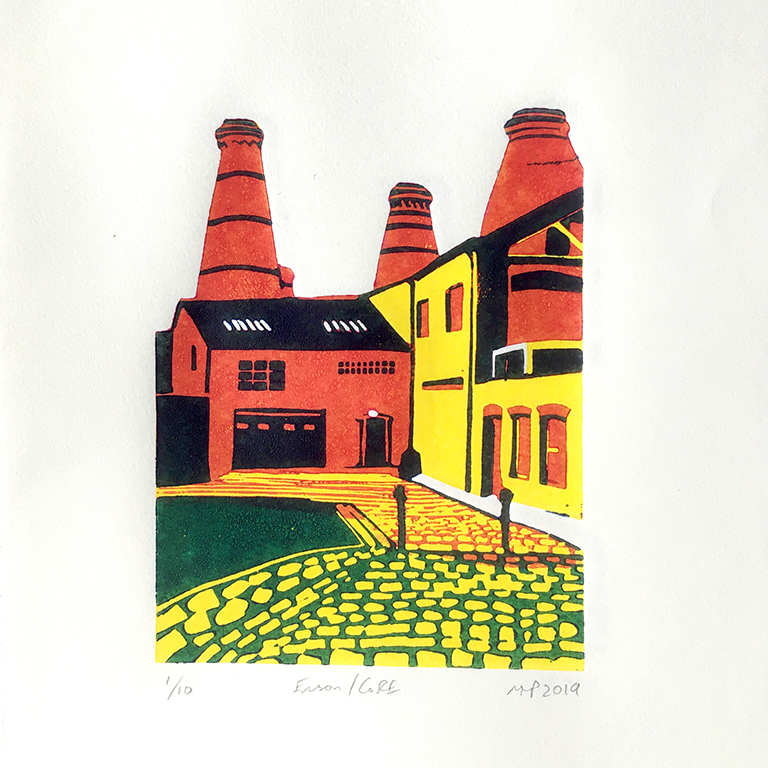 Travel posters Stoke Potteries
