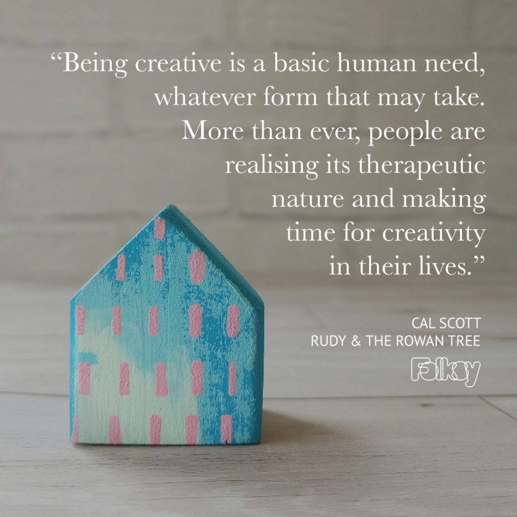 Cal Scott from Rudy and the Rowan Tree on craft and creativity