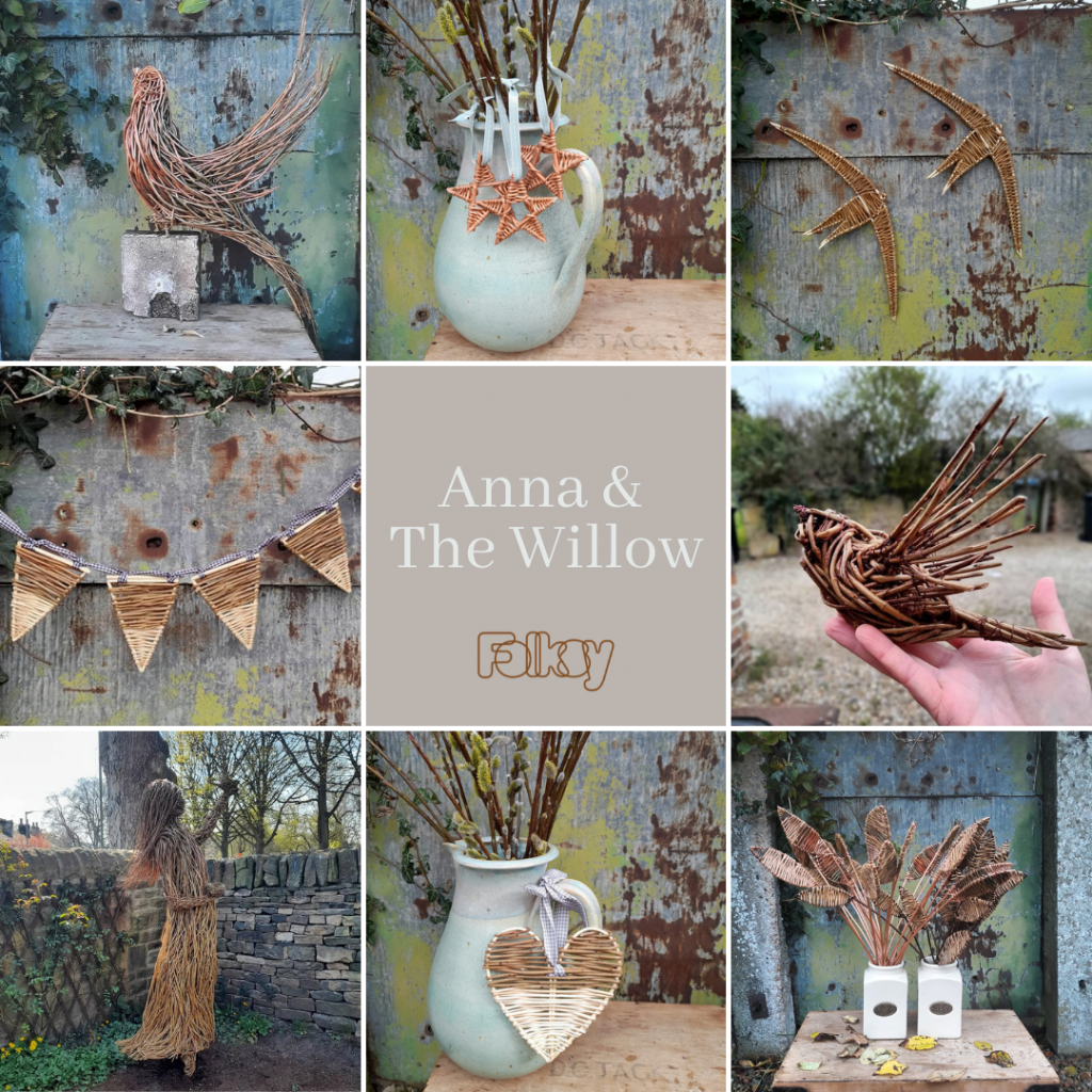 Anna and the Willow on Folksy
